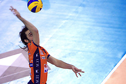 Angel Perez of ACH Volley at volleyball match of CEV Indesit Champions League Men 2008/2009 between ACH Volley Bled (SLO) and Beauvais Oise (FRA), on December 11, 2008 in Hala Tivoli, Ljubljana, Slovenia. (Photo by Vid Ponikvar / Sportida)