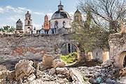 The Sanctuary of Atotonilco an important Catholic pilgrimage site in Atotonilco, Mexico.