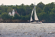 Sailing in Door County, Wisconsin,  Photo by Mike Roemer