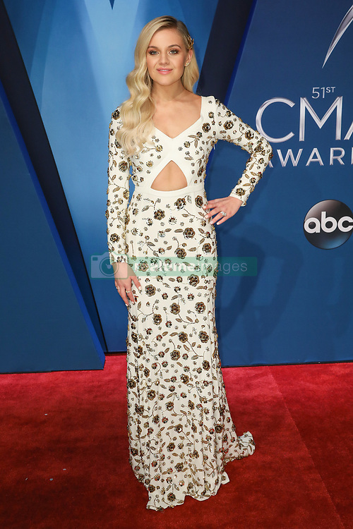 Thomas Rhett at the 51st Annual Country Music Association Awards hosted by Carrie Underwood and Brad Paisley and held at the Bridgestone Arena on November 8, 2017 in Nashville, TN. © Curtis Hilbun / AFF-USA.com. 08 Nov 2017 Pictured: Kelsea Ballerini. Photo credit: MEGA TheMegaAgency.com +1 888 505 6342