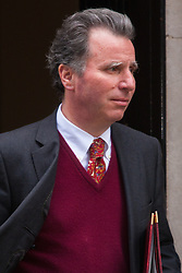 London, March 3rd 2015. Members of the cabinet arrive at 10 Downing Street for their weekly meeting. PICTURED: Minister for Government Policy, Oliver Letwin
