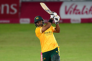 Samit Patel of Nottinghamshire during the Vitality T20 Blast North Group match between Nottinghamshire County Cricket Club and Leicestershire County Cricket Club at Trent Bridge, Nottingham, United Kingdom on 1 October 2020.