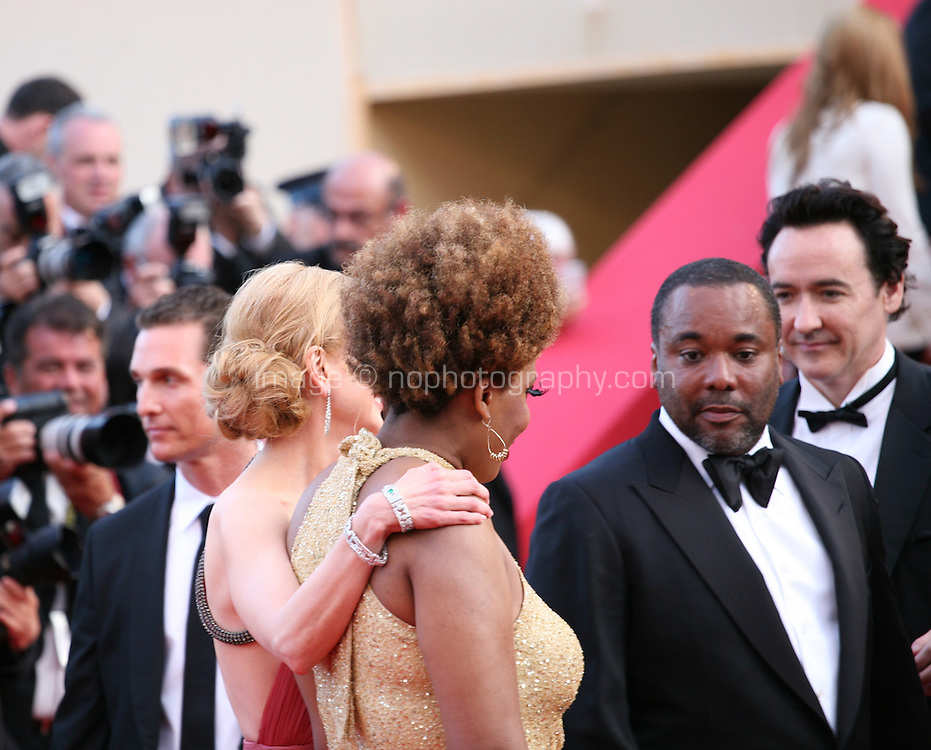 Matthew Mcconaughey, Nicole Kidman, Macy Gray, John Cusack, Lee Daniels, John Cusack,  at The Paperboy gala screening red carpet at the 65th Cannes Film Festival France. Thursday 24th May 2012 in Cannes Film Festival, France.