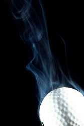 Golf Ball smoking