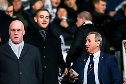 England Cricketer and Nottingham Forest fan Stuart Broad in attendance at Pride Park Stadium the East Midlands Derby against Derby County - Mandatory by-line: Robbie Stephenson/JMP - 17/12/2018 - FOOTBALL - Pride Park Stadium - Derby, England - Derby County v Nottingham Forest - Sky Bet Championship