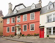 Historic buildings Georgian architecture, Market Hill, Calne, Wiltshire, England, UK