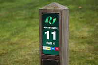 's Gravenwezel -  Antwerp International Golf & Country Club Rinkven . hole Noord 4. holebord, homepaal,  COPYRIGHT KOEN SUYK