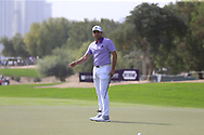 Sergio Garcia (ESP) on the 2nd during Round 2 of the Omega Dubai Desert Classic, Emirates Golf Club, Dubai,  United Arab Emirates. 25/01/2019<br /> Picture: Golffile   Thos Caffrey<br /> <br /> <br /> All photo usage must carry mandatory copyright credit (© Golffile   Thos Caffrey)