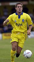 Picture: Henry Browne<br />Date: 19/07/2003<br />Burton Albion v Birmingham City Pre season friendly<br />David Dunn of City