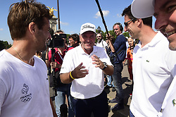 June 23, 2017 - Paris, France, France - Thomas Levet / Arnaud CLement et Tony Estanguet - Co President Paris2024  (Credit Image: © Panoramic via ZUMA Press)