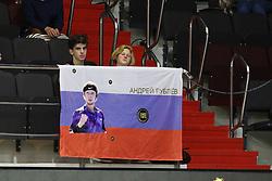 September 18, 2018 - St. Perersburg, Russia - Russian Federation. St. Petersburg. Tennis. Tennis tournament ATP. Saint-Petersburg Open. Sibur Arena. Tennis player Andrei Rublev. (Credit Image: © Russian Look via ZUMA Wire)