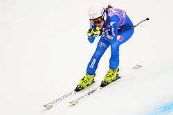 January 19, 2018 - Cortina D'Ampezzo, Dolimites, Italy - Federica Sosio of Italy competes  during the Downhill race at the Cortina d'Ampezzo FIS World Cup in Cortina d'Ampezzo, Italy on January 19, 2018. (Credit Image: © Rok Rakun/Pacific Press via ZUMA Wire)