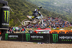 Klemen Gercar #62 of Slovenia during MXGP Trentino Saturday Practice, round 5 for MXGP Championship in Pietramurata, Italy on 15th of April, 2017 in Italy. Photo by Grega Valancic / Sportida