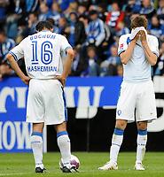 Fotball<br /> Tyskland<br /> 08.05.2010<br /> Foto: Witters/Digitalsport<br /> NORWAY ONLY<br /> <br /> v.l. Vahid Hashemian, Stanislav Sestak Bochum<br /> Bundesliga VfL Bochum - Hannover 96 0:3