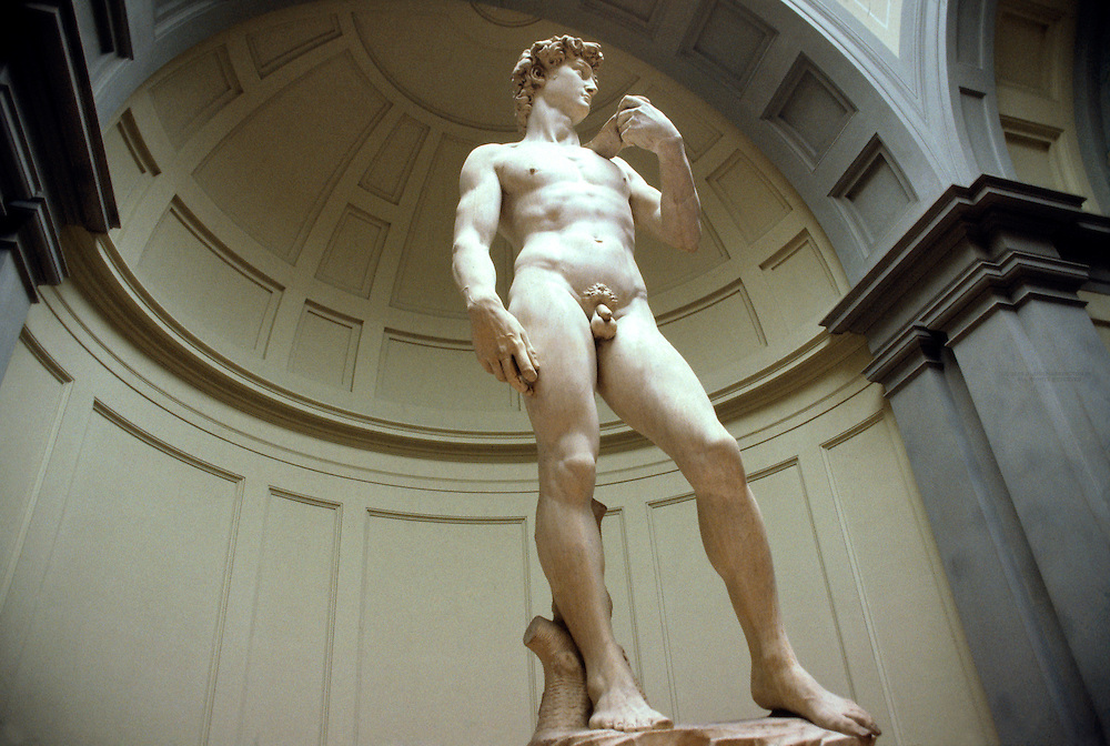 Michelangelo's David, Accademia, Florence, Italy