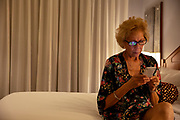 Senior Woman on Smart Phone