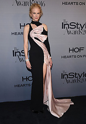 October 24, 2016 - Los Angeles, California, U.S. - Nicole Kidman arrives for the InStyle Awards 2016 at the Getty Center. (Credit Image: © Lisa O'Connor via ZUMA Wire)