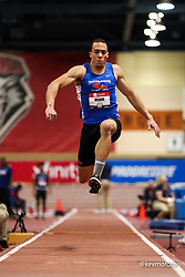 2020 USATF Indoor Championship<br /> Albuquerque, NM 2020-02-15<br /> photo credit: © 2020 Kevin Morris<br /> mens triple jump, Boston-North