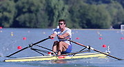 St Catherines, CANADA,   GBR M1X,Greg SEARLE, competing at the 1999 World Rowing Championships - Martindale Pond, Ontario. 08.1999..[Mandatory Credit; Peter Spurrier/Intersport-images]    ...St Catherines, CANADA,   GBR M1X,Greg SEARLE, competing at the 1999 World Rowing Championships - Martindale Pond, Ontario. 08.1999..[Mandatory Credit; Peter Spurrier/Intersport-images]       ... 1999 FISA. World Rowing Championships, St Catherines, CANADA