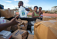 Hurricane Relief Powered by HeadKnowles delivers relief supplies to families in need living in March Harbour area of Abaco on Friday, September 6, 2019.