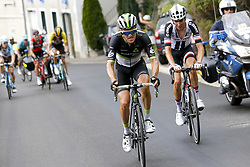 July 8, 2017 - Station Des Rousses, FRANCE - Belgian Serge Pauwels of Dimension Data pictured in action during the eighth stage of the 104th edition of the Tour de France cycling race, 187,5km from Dole to Station des Rousses, France, Saturday 08 July 2017. This year's Tour de France takes place from July first to July 23rd. BELGA PHOTO YUZURU SUNADA (Credit Image: © Yuzuru Sunada/Belga via ZUMA Press)
