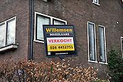 Nederland, Arnhem, 29-3-2012Herenhuis uit de jaren dertig is ondanks de malaise op de woningmarkt verkocht.Foto: Flip Franssen/Hollandse Hoogte