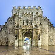 The Bargate Constructed circa 1180 in Norman times as part of the Southampton town walls, Hampshire.