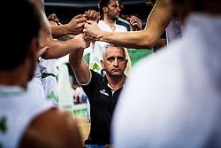 Slovenian head coach Igor Kokoskov during qualifying match between Slovenia and Kosovo for European basketball championship 2017,  Arena Stozice, Ljubljana on 31th August, Slovenia. Photo by Grega Valancic / Sportida
