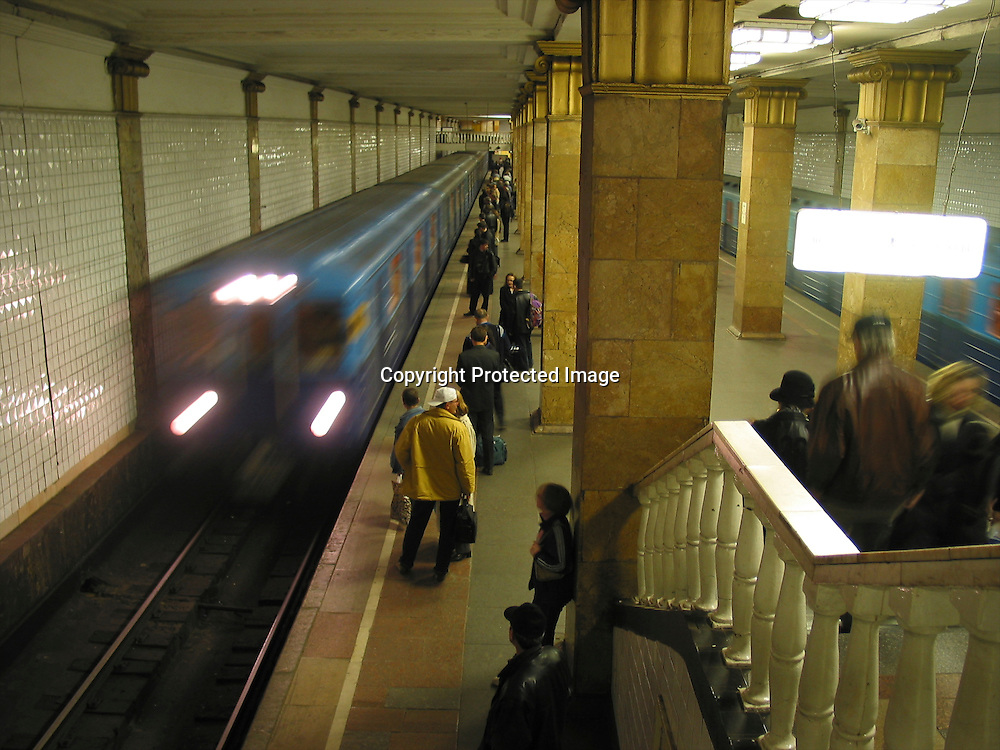 Metro in moscow