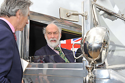 Left to right, ARNAUD BAMBERGER and HRH PRINCE MICHAEL OF KENT at a luncheon hosted by Cartier for their sponsorship of the Style et Luxe part of the Goodwood Festival of Speed at Goodwood House, West Sussex on 1st July 2012.