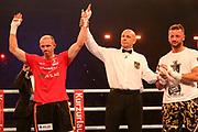 Boxen: Agon Boxgala, Supermittelgewicht, Schwerin, 15.06.2019<br /> Jürgen Brähmer (GER) - Erdogan Kadrija (GER)<br /> © Torsten Helmke