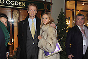 GEORGE KHAYAT; ALEXANDRA SPENCER  The Duchess of Cornwall switches on the Christmas lights at the Burlington Arcade in Piccadilly, London, November 23,  London. 23 November 2011.