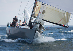 Sailing - SCOTLAND  - 25th-28th May 2018<br /> <br /> The Scottish Series 2018, organised by the  Clyde Cruising Club, <br /> <br /> First days racing on Loch Fyne.<br /> <br /> GBR447R, Local Hero, Geoff & Norman Howison, RGYC, Beneteau 44.7<br /> <br /> Credit : Marc Turner<br /> <br /> <br /> Event is supported by Helly Hansen, Luddon, Silvers Marine, Tunnocks, Hempel and Argyll & Bute Council along with Bowmore, The Botanist and The Botanist