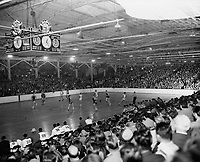 1940s Basketball game at The Pan-Pacific Auditorium