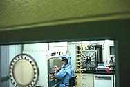 A bio safety lab in Camp Detrick, Maryland<br />Photo by Dennis Brack