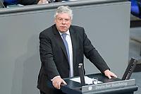 13 FEB 2020, BERLIN/GERMANY:<br /> Juergen Hardt, MdB, CDU, Sitzung des Deutsche Bundestages, Plenum, Reichstagsgebaeude<br /> IMAGE: 20200213-01-041<br /> KEYWORDS: Jürgen Hardt