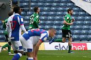 GOAL CELE 2-2 BIRMINGHAM CITY'S Lukas Jutkiewicz  during the EFL Sky Bet Championship match between Blackburn Rovers and Birmingham City at Ewood Park, Blackburn, England on 8 May 2021.