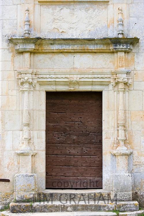 Chateau de Puyguilhem, 16th Century renaissance architecture near Villars, The Dordogne, France