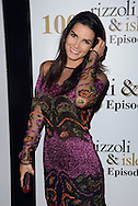 Angie Harmon attends a party to celebrate 100 episodes of Rizzoli & Isles on July 9, 2016 at Cicada in Los Angeles, California. (Photo: Charlie Steffens/Gnarlyfotos)