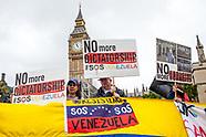 Manifestación de Venezuela en el Parlamento Británico