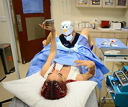 EXCLUSIVE: Farrah Abraham live records her Labiaplasty surgery on social media by Dr Shiela Nazarian know for her designer vagina's. Farrah's daughter wasn't present at this surgery and fans went wild as many asked about the sensation and is there was any pain whilst she was conscious!. 16 Apr 2018 Pictured: Farrah Abraham. Photo credit: MEGA TheMegaAgency.com +1 888 505 6342