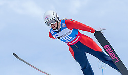 30.01.2016, Normal Hill Indiviual, Oberstdorf, GER, FIS Weltcup Ski Sprung Ladis, Bewerb, im Bild Tara Geraghty Moats (USA) // Tara Geraghty Moats of the USA during her Competition Jump of FIS Ski Jumping World Cup Ladis at the Normal Hill Indiviual, Oberstdorf, Germany on 2016/01/30. EXPA Pictures © 2016, PhotoCredit: EXPA/ Peter Rinderer