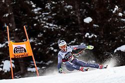 28.12.2017, Stelvio, Bormio, ITA, FIS Weltcup, Ski Alpin, Abfahrt, Herren, im Bild Nicolas Raffort (FRA) // Nicolas Raffort of France in action during mens Downhill of the FIS Ski Alpine Worldcup at the Stelvio course, Bormio, Italy on 2017/12/28. EXPA Pictures © 2012, PhotoCredit: EXPA/ Johann Groder