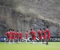 20100817: BRAGA, PORTUGAL - Sevilla FC training session before UEFA Champions League 2010/2011 Play-off match against SC Braga. In picture: Sevilla players. PHOTO: CITYFILES