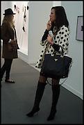 TATIANA OJJAY DARA HUANGOpening of Frieze art Fair. London. 14 October 2014