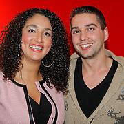 NLD/Hoofddorp/20120206 - Premiere Eten met Vrienden, Soundos el Ahmadi en …..