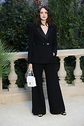 Stacy Martin at the Chanel show as part of Paris Haute Couture Fashion Week Spring/Summer 2019-2020 on January 22, 2019 in Paris, France. Photo by Jerome Domine/ABACAPRESS.COM