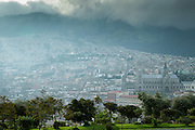 Viewpoint in San Juan, Quito, Ecuador, South America