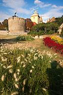 Medieval Gate Tower of the  Bishop's Castle ( P?spökvår ) Pecs ( Pécs ) - European Cultural City of The Year 2010 , Hungary