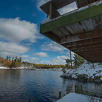 The Wiltsie family cabin on Offshore Island in Lake of the Woods, Ontario, Canada.